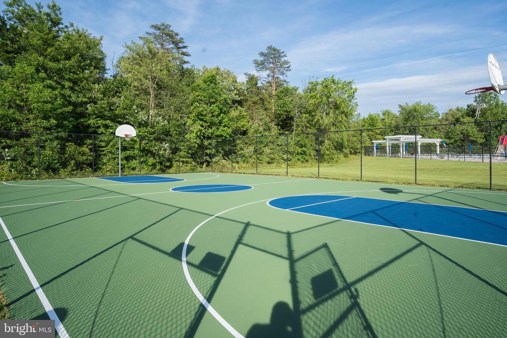 Neighborhood Basketball Court - 43777 PARAMOUNT PL, CHANTILLY