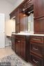 Built-in vanity with lots of storage space - 9600 TERRI DR, LA PLATA