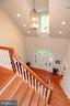 Wood floors throughout main level and stairs - 9600 TERRI DR, LA PLATA