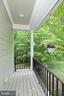 Side porch off kitchen eating area - 9600 TERRI DR, LA PLATA