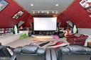 Oversized Movie & Entertainment Room above garage - 9600 TERRI DR, LA PLATA