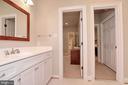 Jack n Jill bathroom between BR #2 and #3 - 9600 TERRI DR, LA PLATA