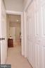 Closet area and hall for BR#3 - 9600 TERRI DR, LA PLATA