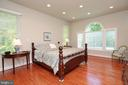 First Floor Master Bedroom with Access to Porch - 9600 TERRI DR, LA PLATA