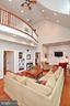 Balcony from second floor overlooks great room - 9600 TERRI DR, LA PLATA