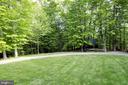 Large back yard space - 9600 TERRI DR, LA PLATA