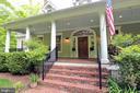 Spacious front porch and solid 10 ft door w/ trans - 9600 TERRI DR, LA PLATA