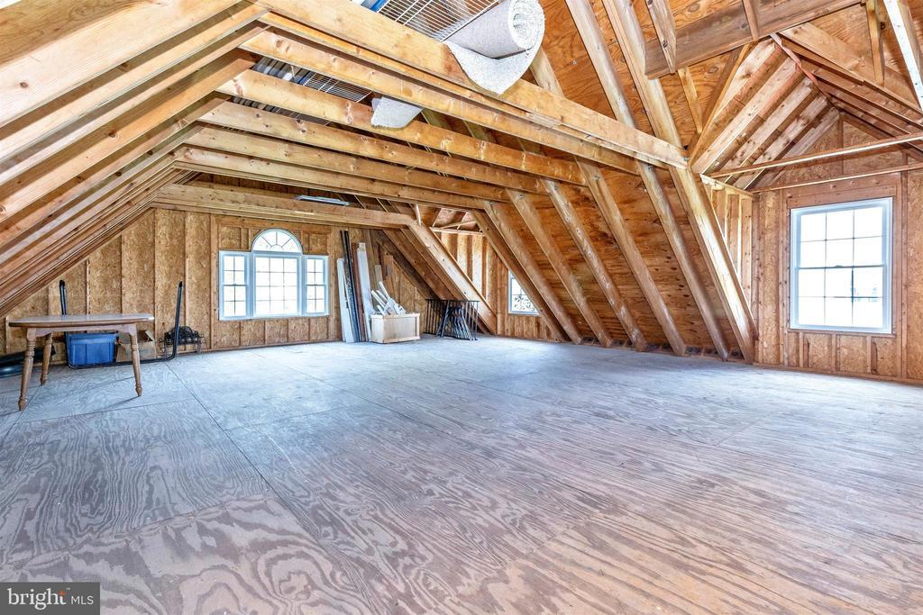 Upper Level Detached Garage Area - 3639 WHEAT MILLER DR, MOUNT AIRY