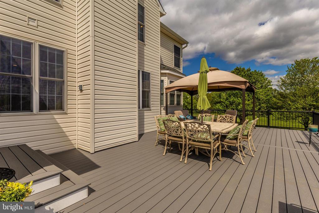 Deck - 3639 WHEAT MILLER DR, MOUNT AIRY