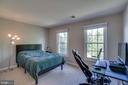 Guest suite w/private bath - 26022 GLASGOW DR, CHANTILLY