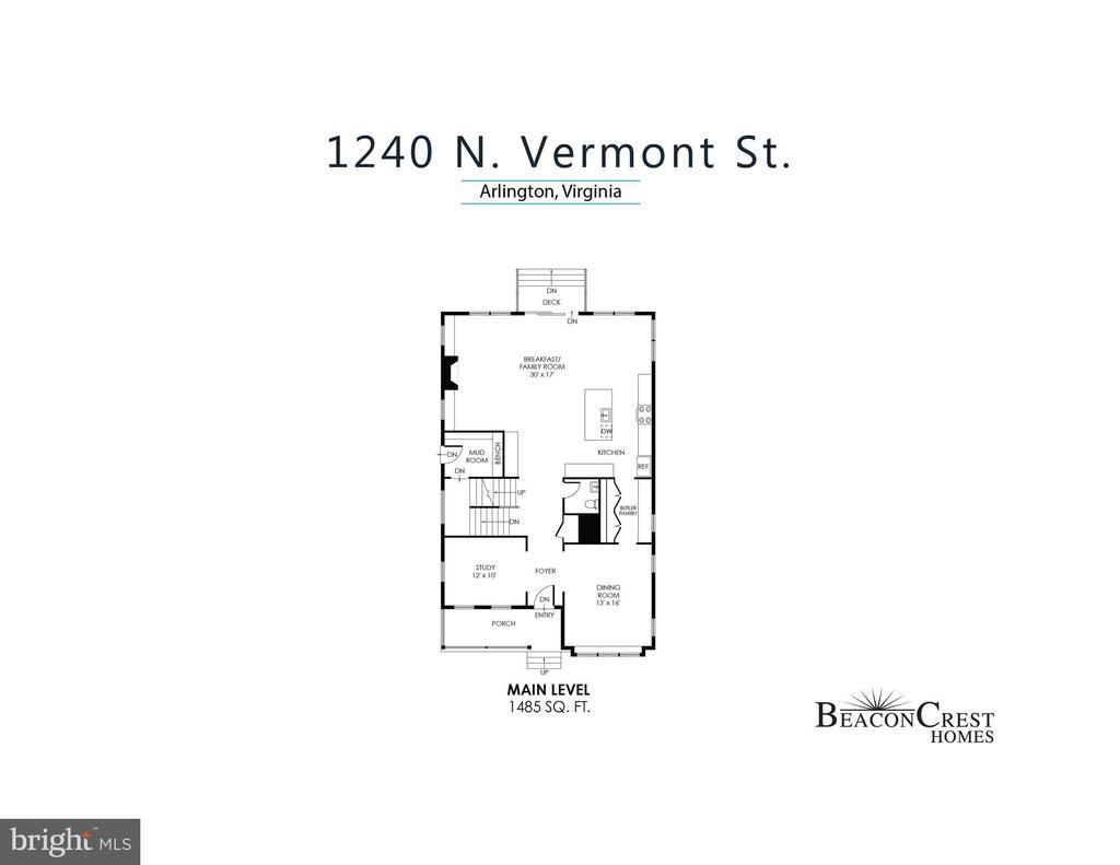 - N VERMONT #1240, ARLINGTON