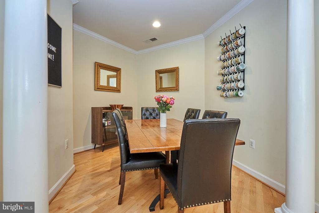 Separate dining area - 1320 N WAYNE ST #301, ARLINGTON