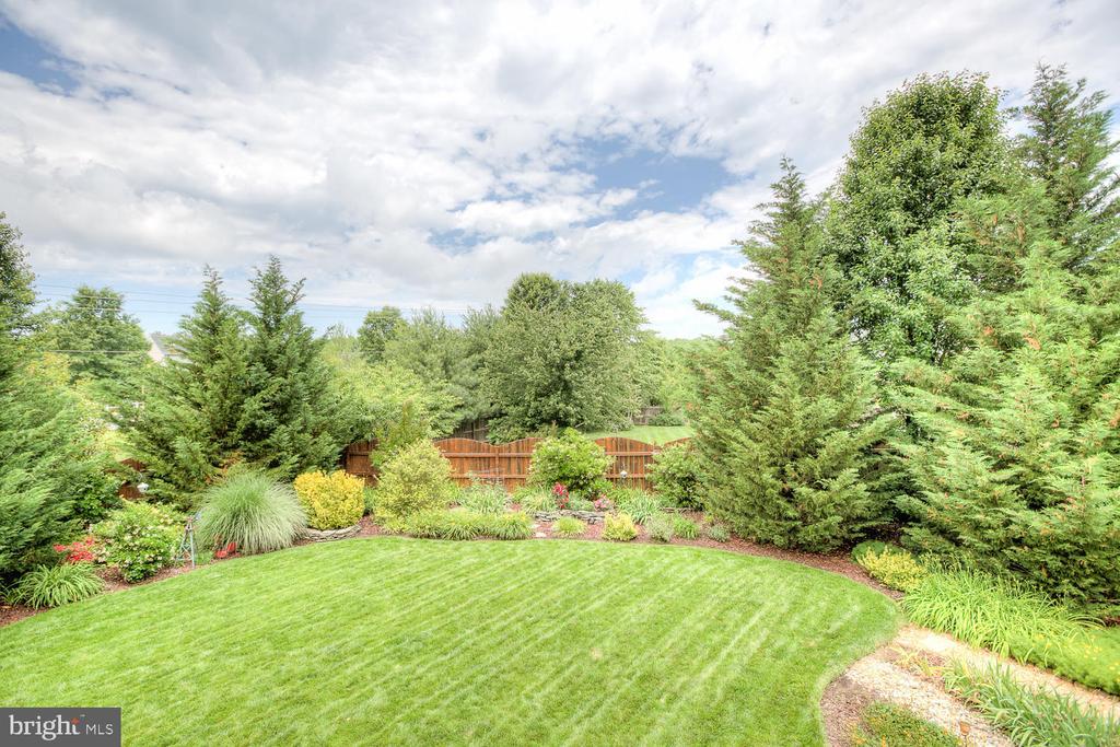 Beautiful flower and garden area, fully fenced. - 3 MOUNT ARARAT LN, STAFFORD