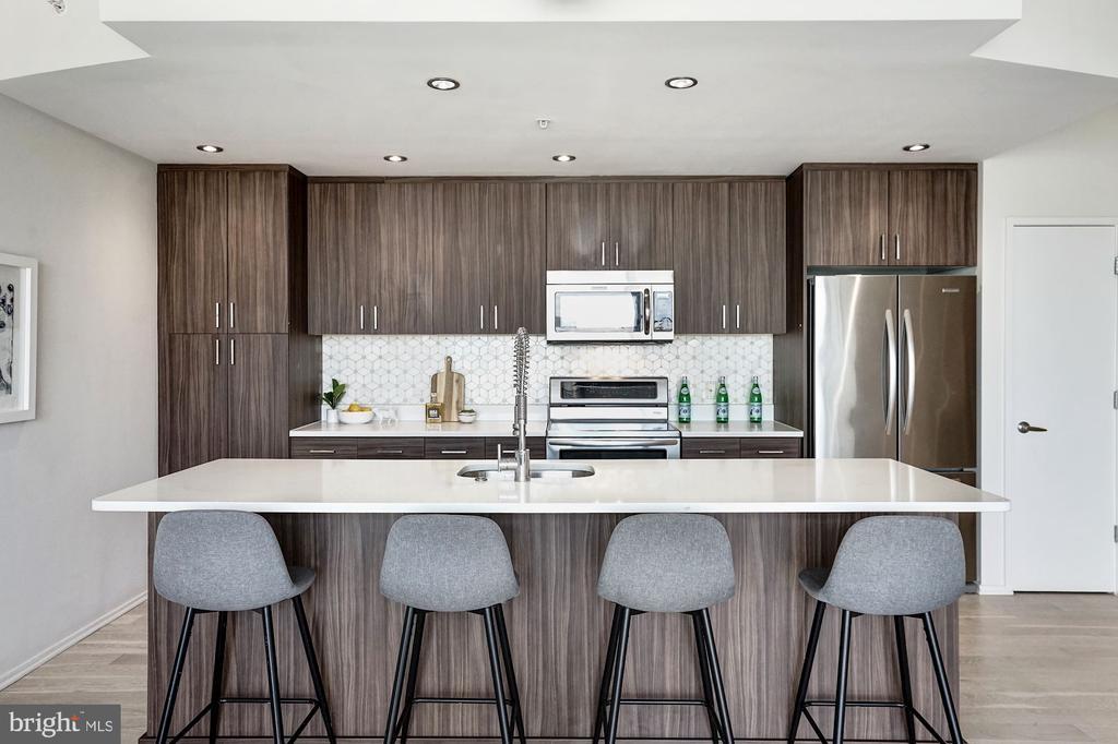 Kitchen - 3409 WILSON BLVD #504, ARLINGTON