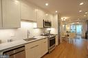 A sleek kitchen with all the bells and whistles - 8 BROWNS CT SE, WASHINGTON
