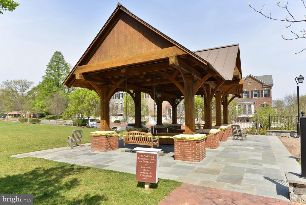So much spPavilion for all residents to enjoy - 6745 DARRELLS GRANT PL, FALLS CHURCH