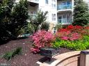 view of back of unit - lots of privacy - 12001 MARKET ST #177, RESTON
