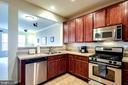 Open Kitchen with Breakfast Bar - 7109 SILVERLEAF OAK RD #164, ELKRIDGE