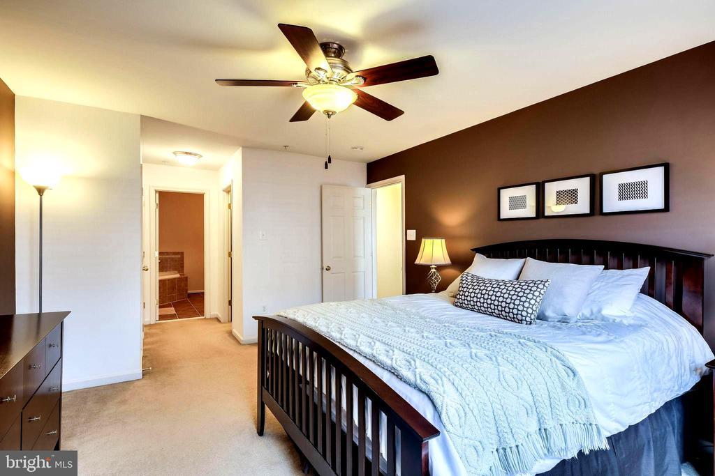 Master Bedroom with Walk In Closet + Wall Closet - 7109 SILVERLEAF OAK RD #164, ELKRIDGE