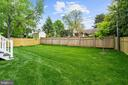 fenced rear yard for children, pets, gardeners - 5010 25TH RD N, ARLINGTON