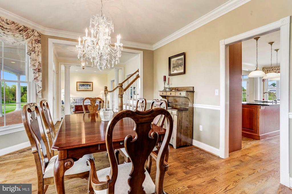Formal Dining Open to Kitchen - 6655 DETRICK RD, MOUNT AIRY