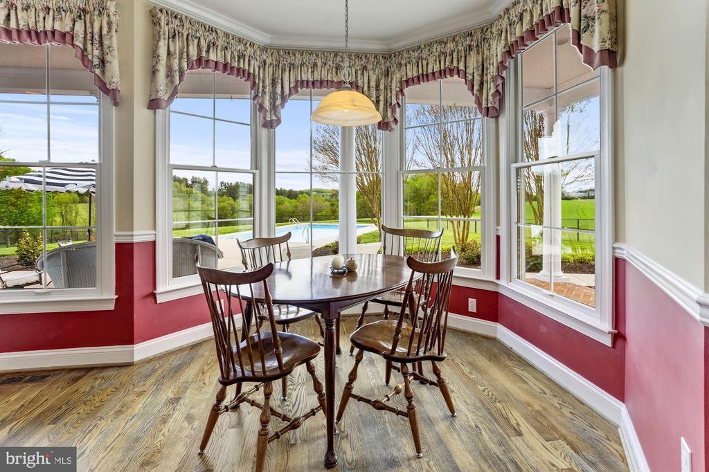 Breakfast Room Over looking Salt Water Pool - 6655 DETRICK RD, MOUNT AIRY