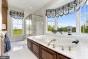 Spa-like Master Bath with Sweeping Views - 6655 DETRICK RD, MOUNT AIRY