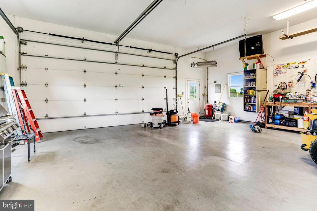Detached Garage Interior - 6655 DETRICK RD, MOUNT AIRY