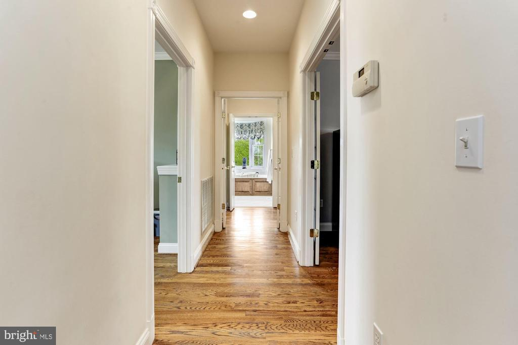 Hall to Private Master Suite - 6655 DETRICK RD, MOUNT AIRY