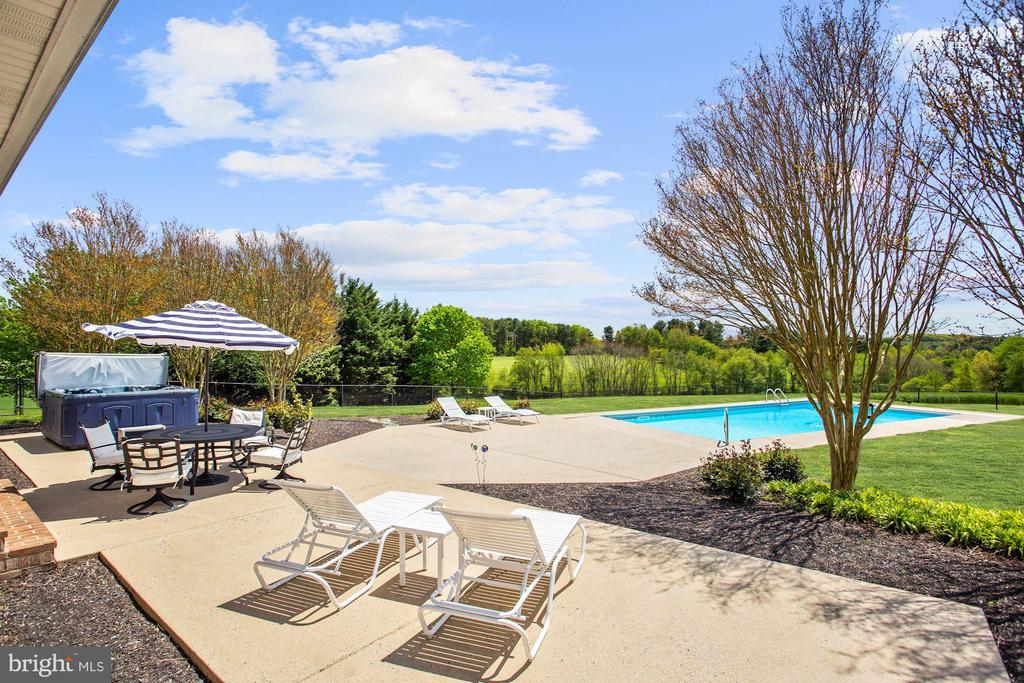 Patio, Pool and Magical Vista - 6655 DETRICK RD, MOUNT AIRY