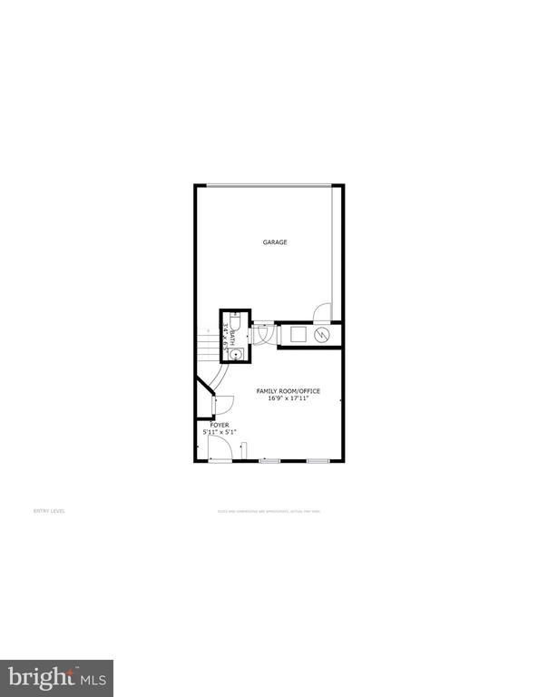Entry level floorplan - 116 WATERLINE CT, ANNAPOLIS
