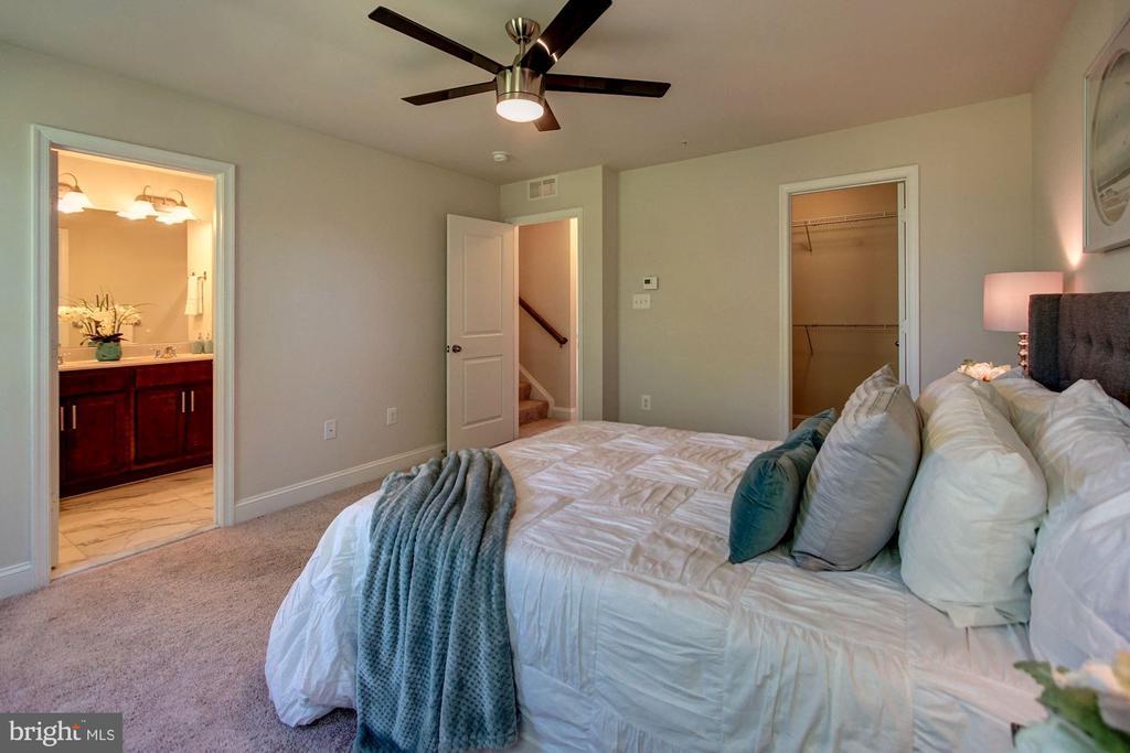Master suite #1 - 116 WATERLINE CT, ANNAPOLIS