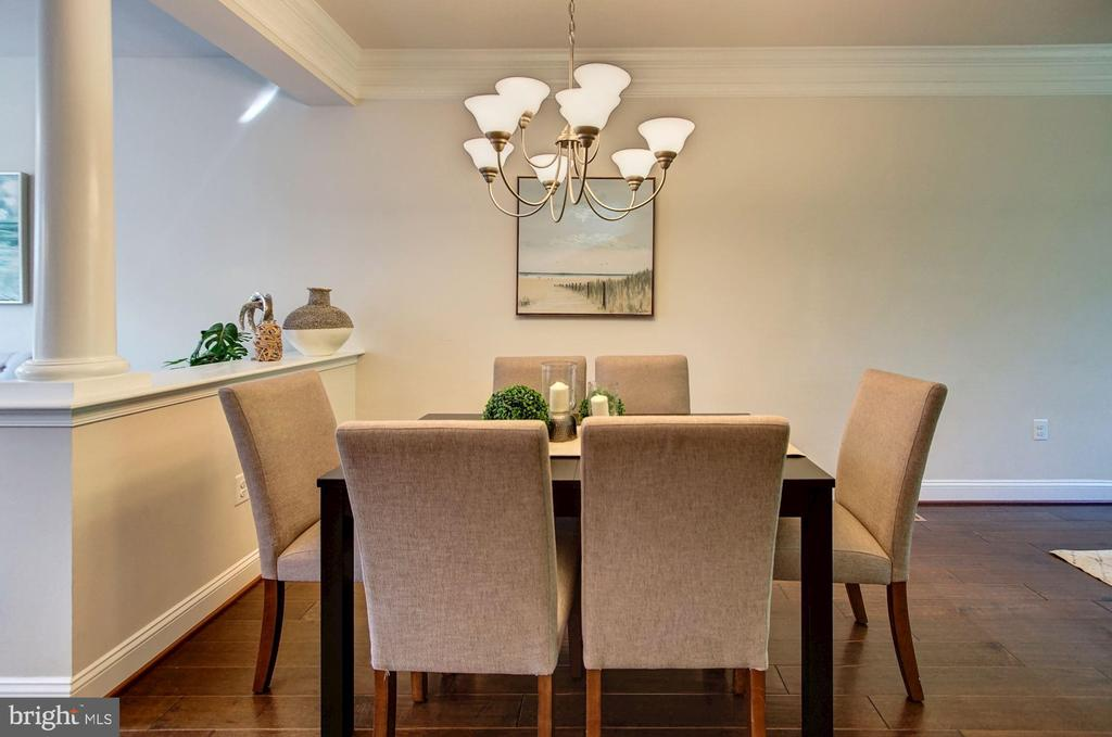 Dining room - 116 WATERLINE CT, ANNAPOLIS