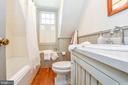 Upper level hall bath - 200 MAGNOLIA AVE, FREDERICK