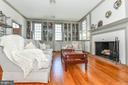Hardwood floors & wood burning fireplace - 200 MAGNOLIA AVE, FREDERICK