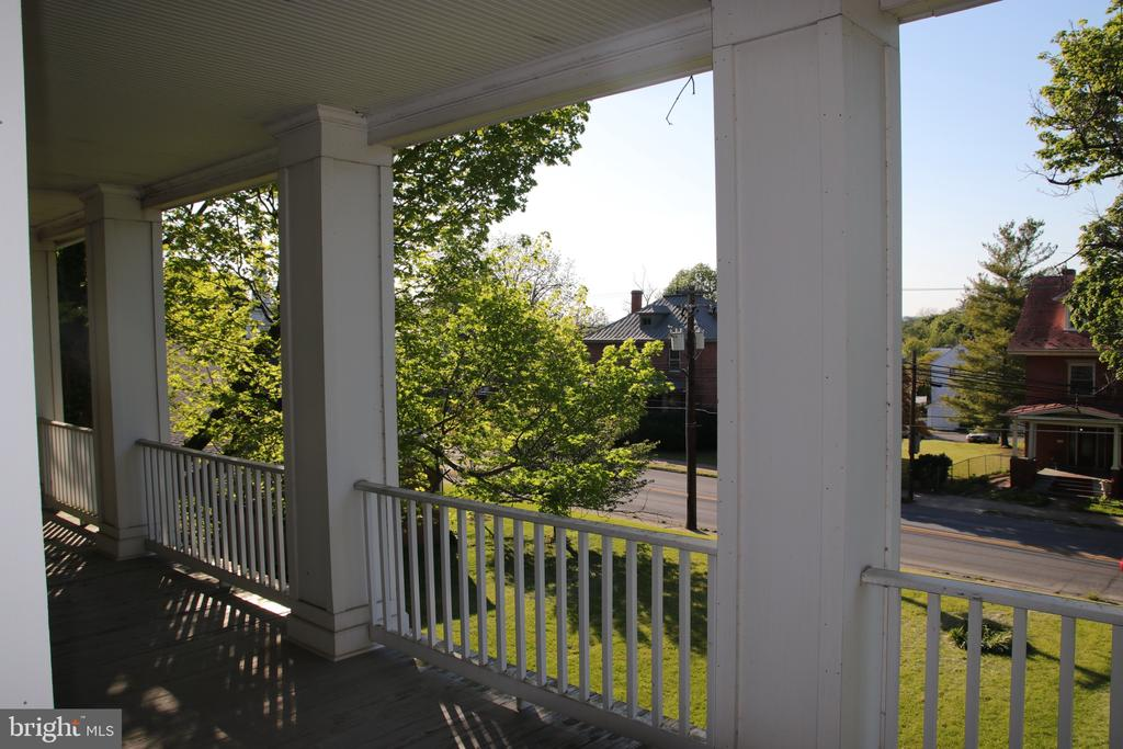 Beautiful views from the porch. - 515 E WASHINGTON, CHARLES TOWN
