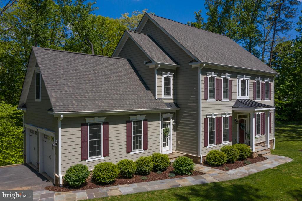 Aerial View - Front of Home - 10920 RAVENWOOD DR, MANASSAS
