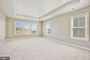 Master Bedroom w/ Tray Ceiling - 20622 DUXBURY TER, ASHBURN