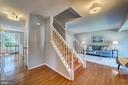 Hardwood floors through main and upper levels - 1331 STOKLEY WAY, VIENNA