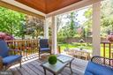 Simply magnificent garden from kitchen - 2 CUMBERLAND CT, ANNAPOLIS