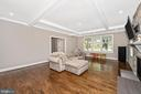 Family Room - 5606 FOREST PL, BETHESDA