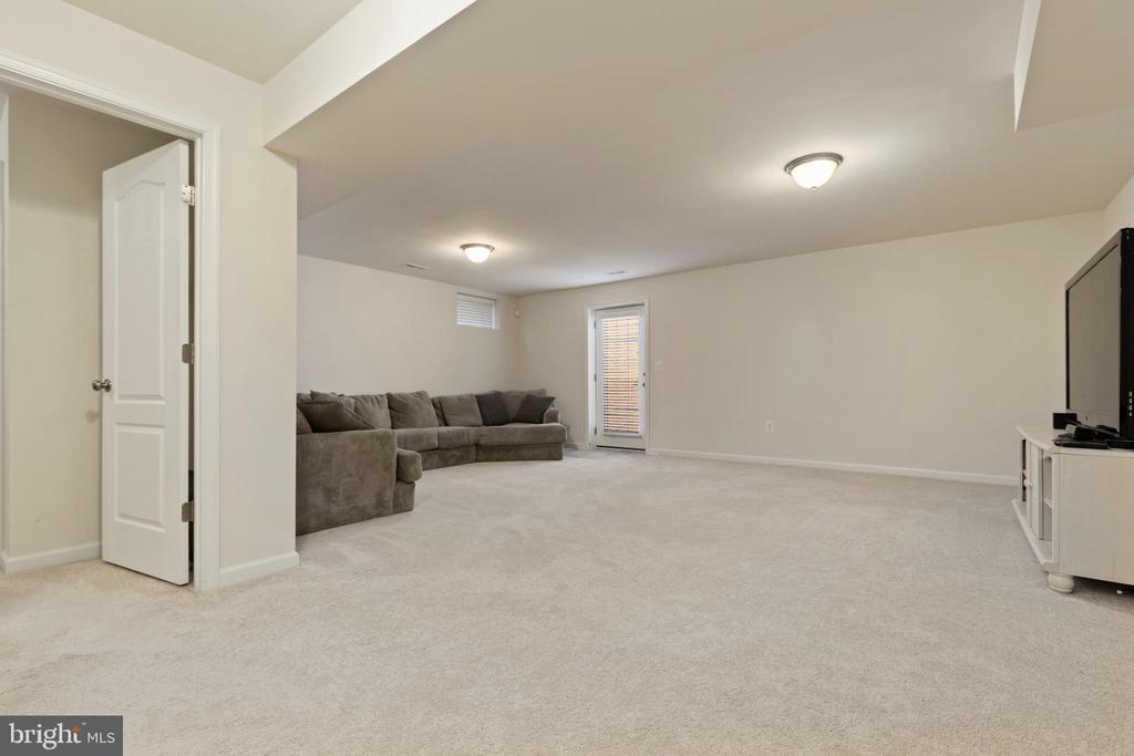 Large Basement Rec Room - 450 EMBREY MILL RD, STAFFORD