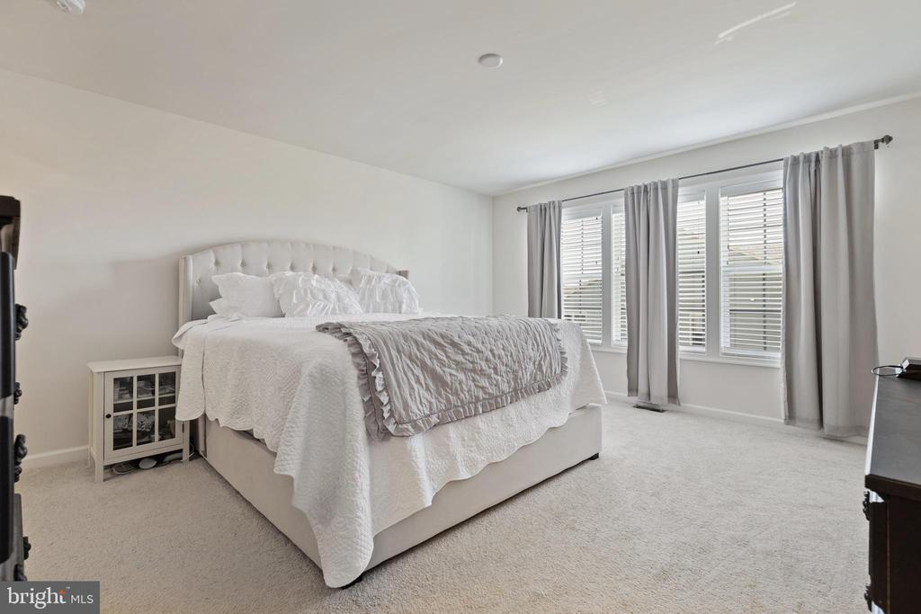 Master Suite has Large Walk-In Closet - 450 EMBREY MILL RD, STAFFORD