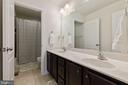 2nd Full Bath has Dual Sink Vanity - 450 EMBREY MILL RD, STAFFORD