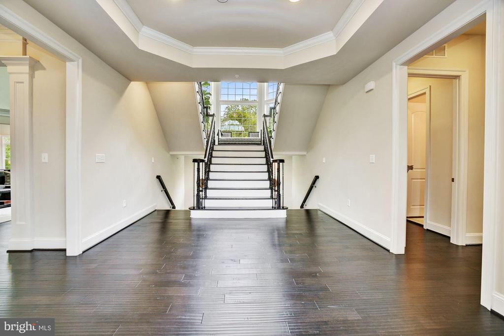 Dramatic Extended Foyer, Tray & Dual Up/Down Stair - 13029 HIGHGROVE RD, HIGHLAND