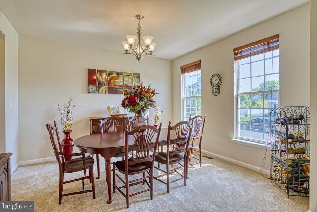 Dining Room - 17663 HAMILTON HEIGHTS CT, HAMILTON