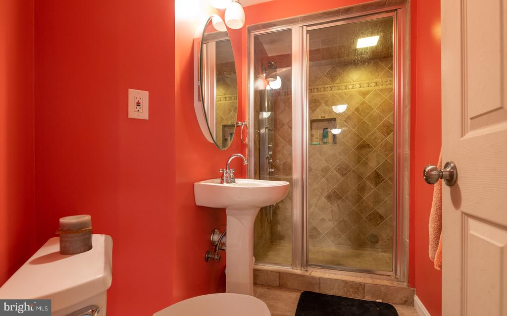 3rd Full Bath Offers Steam Shower and Heated Floor - 25928 KIMBERLY ROSE DR, CHANTILLY