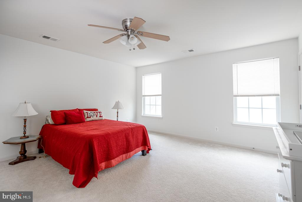 Generously Sized Master Bedroom - 25928 KIMBERLY ROSE DR, CHANTILLY