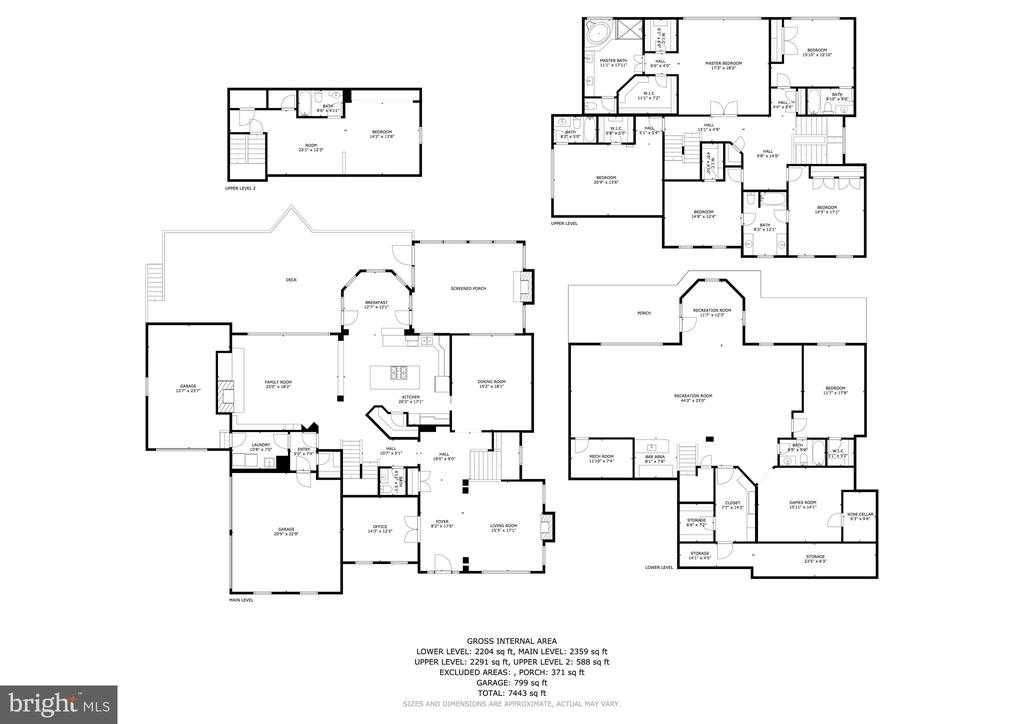 6 Purcell Court Floorplans - 6 PURCELL CT, POTOMAC