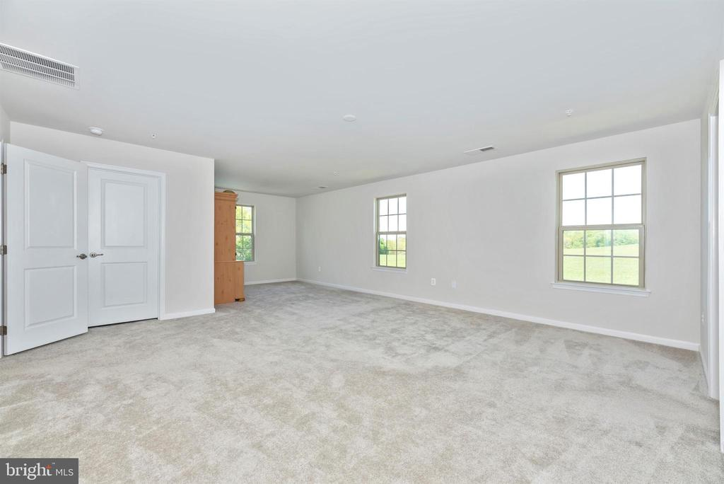the master has a sitting area & 2 walk-in closets - 10058 HUTZELL ST, IJAMSVILLE